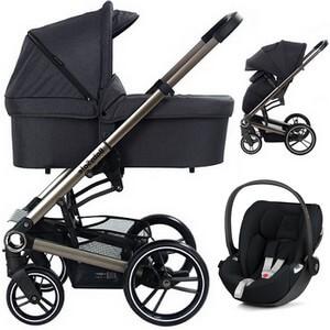 BABYSAFE LUCKY wózek 3w1 z fotelikiem CYBEX CLOUD Z i-Size