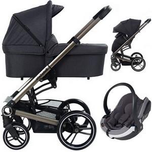 Wózek 3w1 BabySafe LUCKY + fotelik BeSafe iZi GO MODULAR i-Size