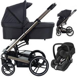 BABYSAFE LUCKY wózek 3w1 z fotelikiem MAXI COSI MARBLE