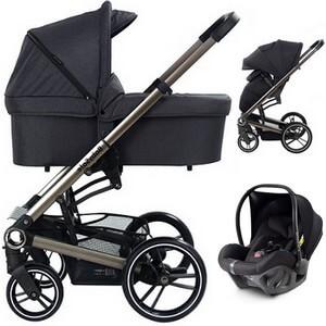 Wózek 3w1 BabySafe LUCKY + fotelik Avionaut PIXEL