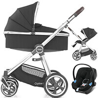 Wózek 3w1 BabyStyle OYSTER 3 + fotelik samochodowy Cybex ATON M