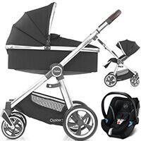 Wózek 3w1 BabyStyle OYSTER 3 + fotelik samochodowy Cybex ATON 5