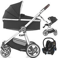 Wózek 3w1 BabyStyle OYSTER 3 + fotelik samochodowy Maxi Cosi CABRIO FIX