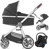 Wózek 3w1 BabyStyle OYSTER 3 + fotelik samochodowy Maxi Cosi CITI
