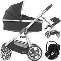Wózek 3w1 BabyStyle OYSTER 3 + fotelik samochodowy Cybex CLOUD Z i-Size