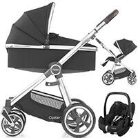 Wózek 3w1 BabyStyle OYSTER 3 + fotelik samochodowy Maxi Cosi PEBBLE PRO