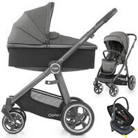 Wózek 3w1 BabyStyle OYSTER 3 + fotelik Swandoo ALBERT