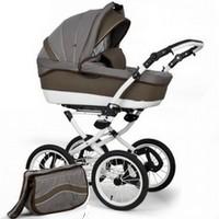 Wózek dziecięcy 2w1 ADBOR MARSEL PERFOR CLASSIC + torba, moskitiera i folia (G)