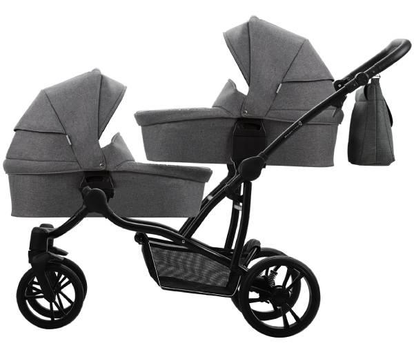 Wózek bliźniaczy Bebetto 42 SIMPLE 2