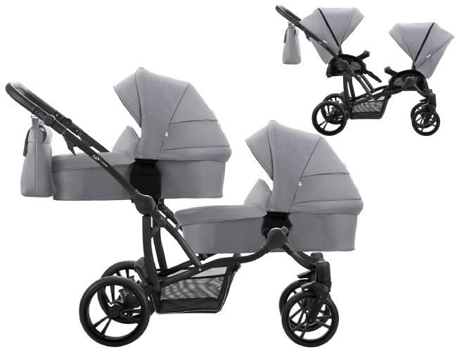 Wózek bliźniaczy Bebetto 42 SIMPLE 1