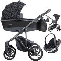 Wózek 3w1 BEBETTO BRESSO + fotelik BeSafe iZi GO Modular I-Size