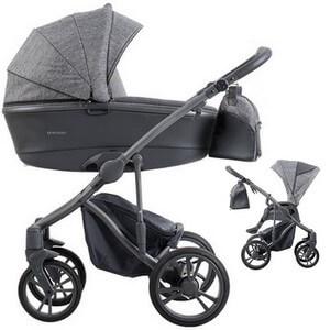Wózek dziecięcy 2w1 BEBETTO BRESSO + torba pielęgnacyjna
