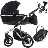 Wózek dziecięcy 3w1 BEBETTO BRESSO PREMIUM CLASS + fotelik Swandoo ALBERT LITE