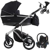 Wózek 3w1 BEBETTO BRESSO PREMIUM CLASS + fotelik Maxi Cosi CABRIO FIX