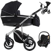 Wózek 3w1 BEBETTO BRESSO PREMIUM CLASS + fotelik Maxi Cosi CITI