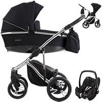 Wózek 3w1 BEBETTO BRESSO PREMIUM CLASS + fotelik Maxi Cosi PEBBLE PRO