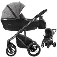 Wózek dziecięcy 2w1 BEBETTO BRESSO PREMIUM CLASS + torba