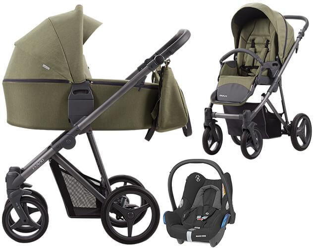 Wózek dziecięcy 2w1 Bebetto FLAVIO 1