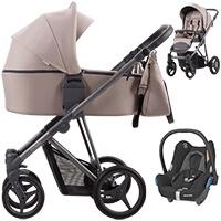Wózek dziecięcy 3w1 Bebetto FLAVIO + fotelik Maxi Cosi CABRIO FIX