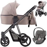Wózek dziecięcy 3w1 Bebetto FLAVIO + fotelik Cybex CLOUD Z i-Size