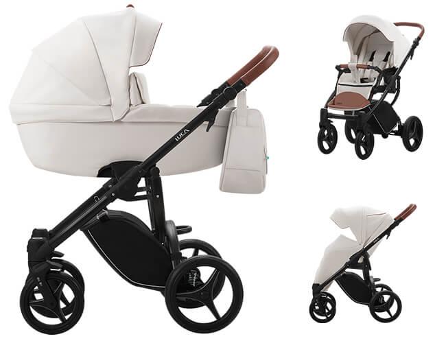 Wózek dziecięcy 2w1 BEBETTO LUCA PRO + torba 1