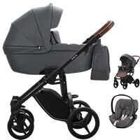 Wózek dziecięcy 3w1 BEBETTO LUCA PRO + fotelik CYBEX CLOUD Z I-SIZE
