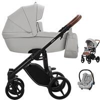 Wózek dziecięcy 3w1 BEBETTO LUCA PRO + fotelik MAXI COSI CABRIO FIX
