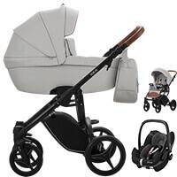 Wózek dziecięcy 3w1 BEBETTO LUCA PRO + fotelik MAXI COSI PEBBLE PRO