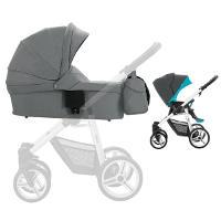 Wózek dziecięcy 2w1 BEBETTO NICO PLUS + torba pielęgnacyjna
