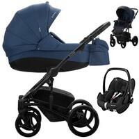 Wózek 3w1 BEBETTO TITO + fotelik Maxi Cosi PEBBLE PRO
