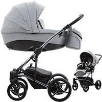 Wózek dziecięcy 2w1 BEBETTO TITO PREMIUM CLASS + torba