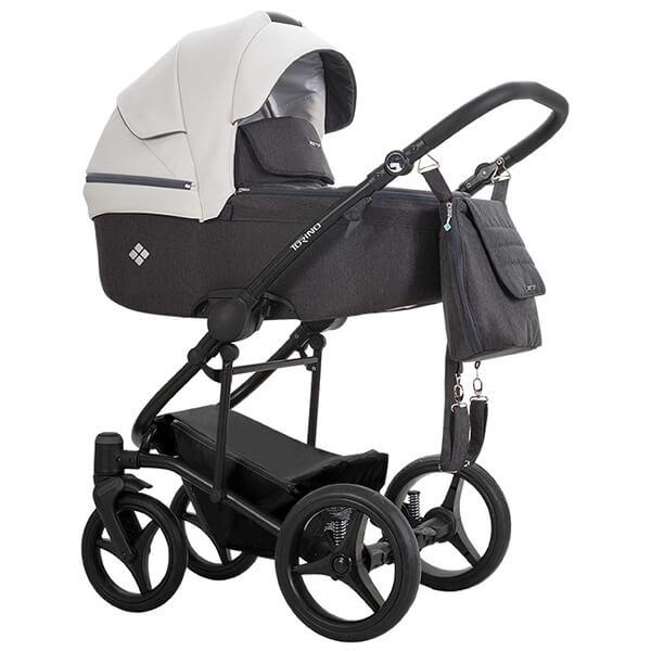 Wózek 3w1 BEBETTO TORINO + fotelik Maxi Cosi CABRIO FIX 2