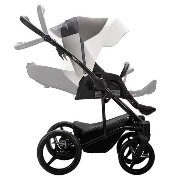 Wózek 3w1 BEBETTO TORINO + fotelik Maxi Cosi CABRIO FIX 3
