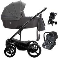 Wózek 3w1 BEBETTO TORINO + fotelik Maxi Cosi MARBLE
