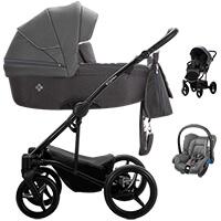 Wózek 3w1 BEBETTO TORINO + fotelik Maxi Cosi CITI
