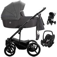 Wózek 3w1 BEBETTO TORINO + fotelik Maxi Cosi PEBBLE PRO