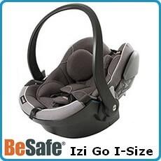 Besafe fotelik samochodowy Izi Go I-Size dla dzieci 0-13kg