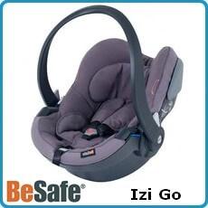 Besafe fotelik samochodowy Izi Go dla dzieci 0-13kg