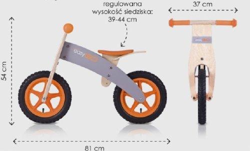 Rowerek bez pedałów