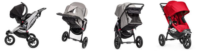 Wózek głęboko-spacerowy BABY JOGGER CITY ELITE + fotelik Maxi Cosi PEBBLE PLUS 1