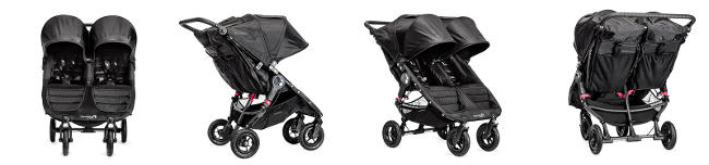 Bliźniaczy wózek spacerowy BABY JOGGER CITY MINI DOUBLE GT 1