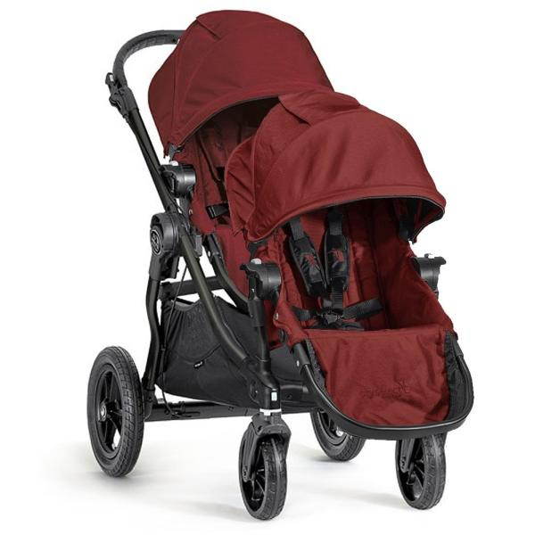 Wózek głęboko-spacerowy BABY JOGGER CITY SELECT DOUBLE + 2 foteliki Maxi Cosi PEBBLE PLUS 2