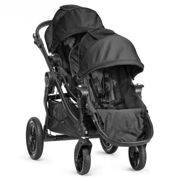 Wózek głęboko-spacerowy BABY JOGGER CITY SELECT DOUBLE + 2 foteliki Kiddy EVOLUTION PRO 2 3