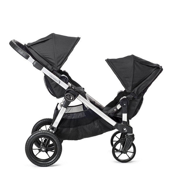Wózek głęboko-spacerowy BABY JOGGER CITY SELECT DOUBLE + 2 foteliki Maxi Cosi PEBBLE PLUS 4