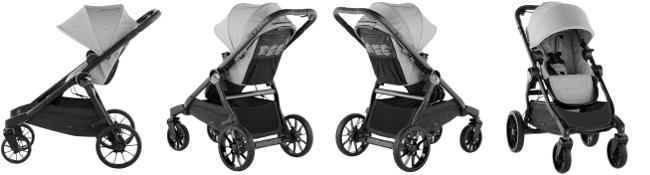 Wózek głęboko-spacerowy BABY JOGGER CITY SELECT LUX DOUBLE 1