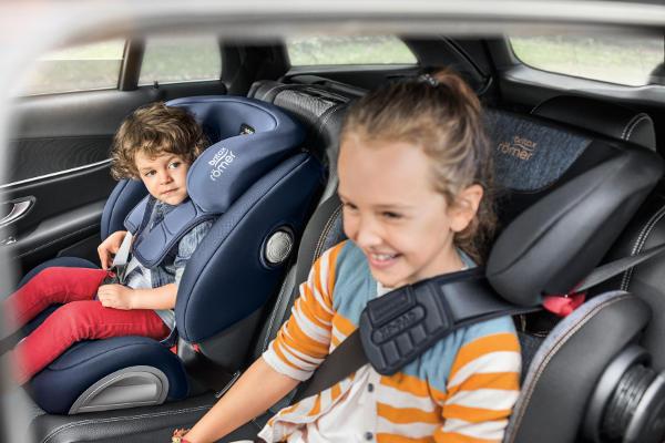 Fotelik samochodowy BRITAX ROMER EVOLVA 1-2-3 SL SICT dla dzieci 9-36 kg 5