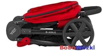 Britax wózek spacerowy B-AGILE 3 złożony