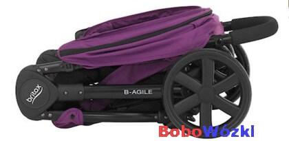 Britax wózek spacerowy B-AGILE 4 złożony