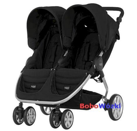Britax wózek głęboko-spacerowy B-AGILE DOUBLE