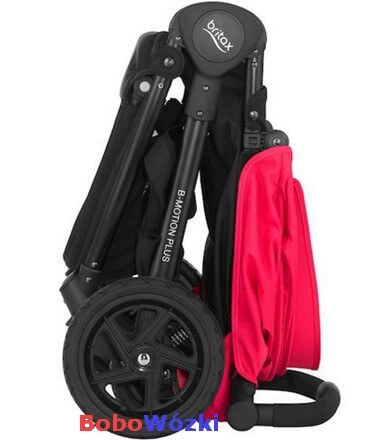 Britax wózek spacerowy B-MOTION 4 PLUS złożony